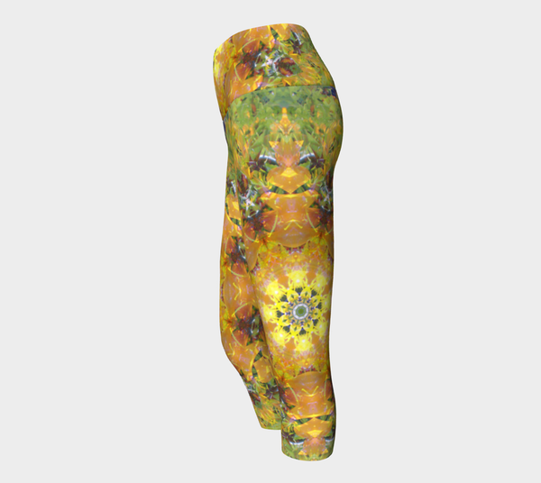 Sunflower Power, Yoga Capris