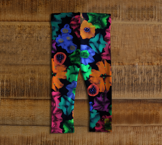 Cosmic Bouquet Baby Tights
