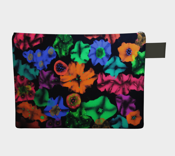 Cosmic Bouquet Zipper Carry-All