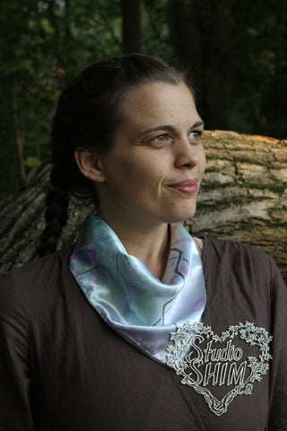 Burst Square Scarf