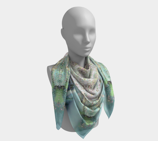 Canna Star, Square Scarf