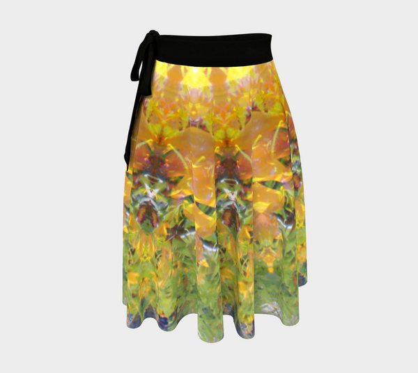 Sunflower Power, Wrap Skirt