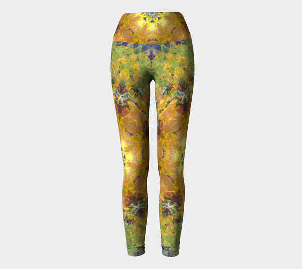 Sunflower Power, Yoga Leggings