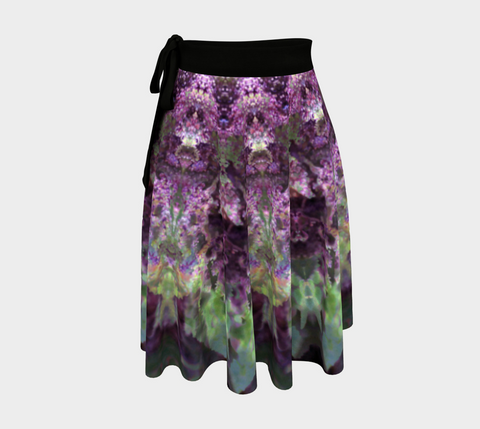 Purple Refraction, Wrap Skirt