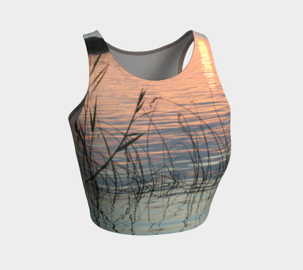 Ripples & Reeds Athletic Crop Top