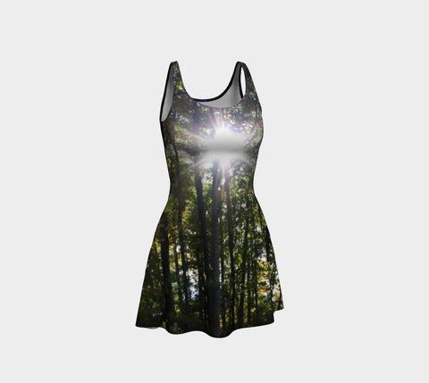 Mystic Shine Flare Dress