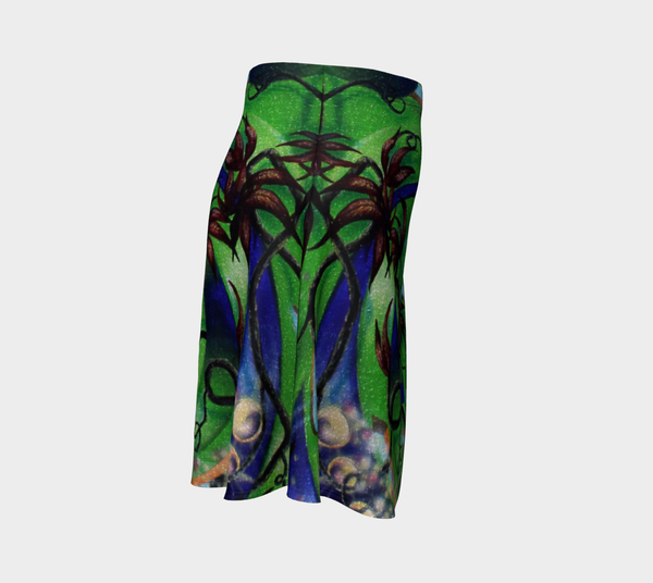 Tree of Flow Flare Skirt