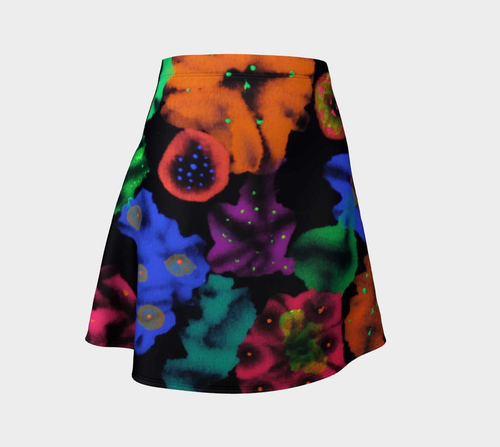 Cosmic Bouquet Flare Skirt