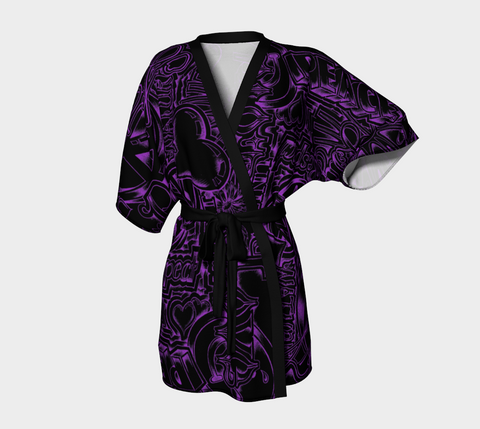 Peace and Love - Kimono Robe