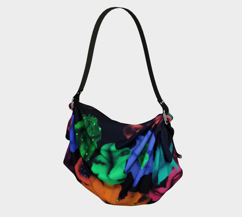 COSMIC BOUQUET Origami Tote