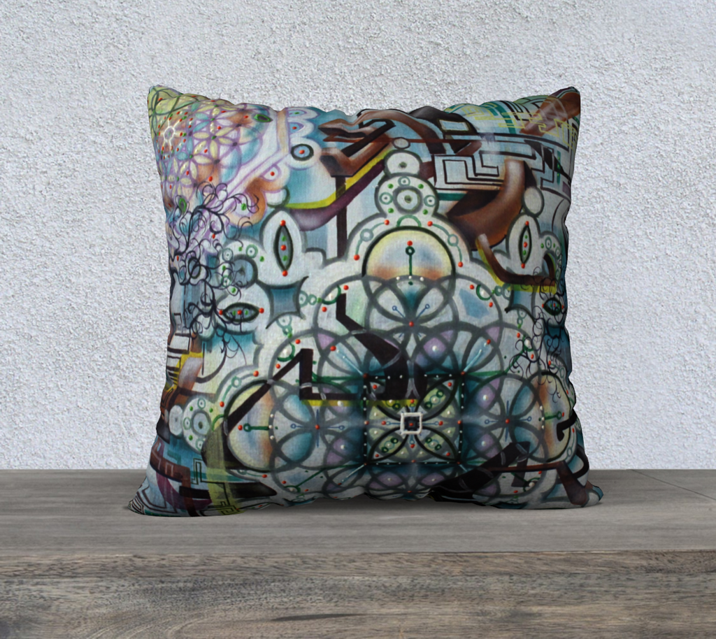 "Ebb Pillow 22"" x 22"" Cover"