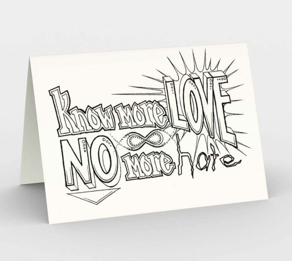 Know more LOVE cards, set of 3
