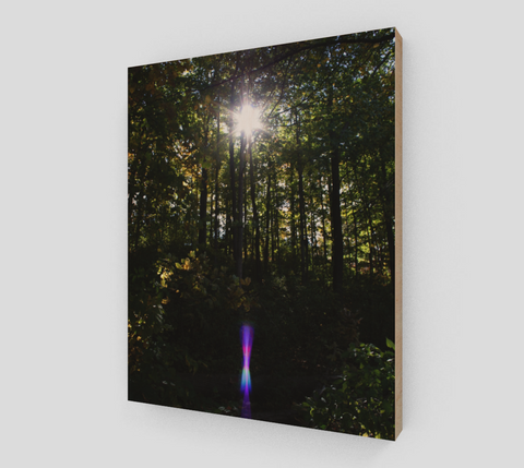 MYSTIC SHINE on Wood