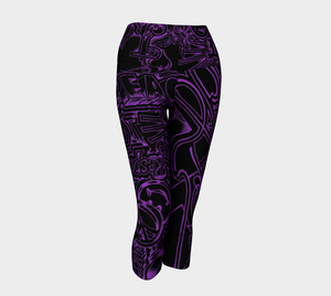 PEACE & LOVE - Yoga- Capris & Leggings