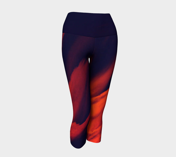 AFTER GLOW Yoga Capris & Leggings