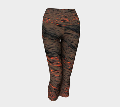 B-WATER Yoga Capris & Leggings