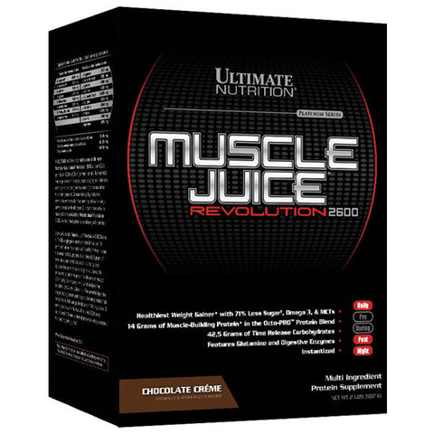 Ultimate Nutrition, Muscle Juice Revolution (Chocolate), 907g (2lbs)