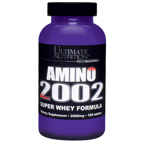 Ultimate Nutrition, AMINO 2002, 100 Tablets