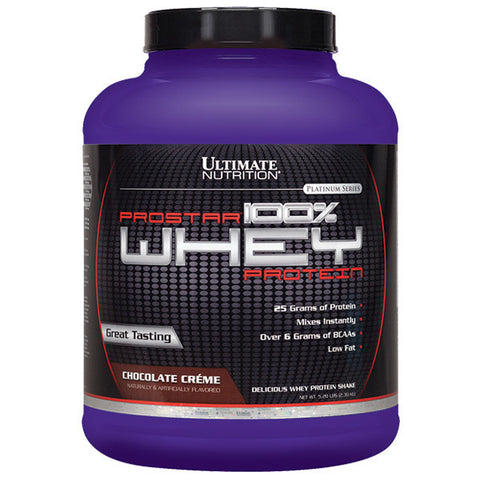 Ultimate Nutrition, Prostar 100% Whey Protein (Chocolate), 2.39kg (5.28 lbs)