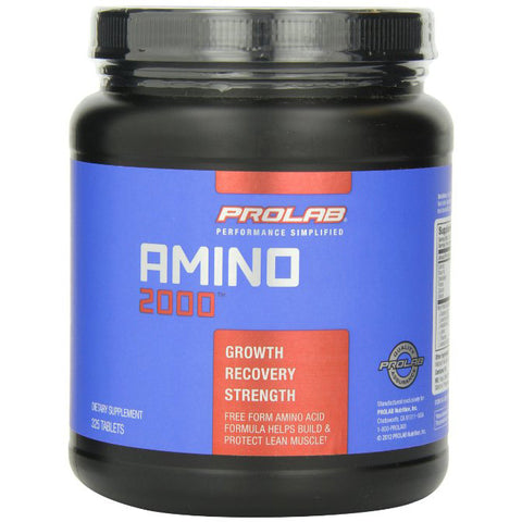 ProLab, Amino 2000, 325 Tablets