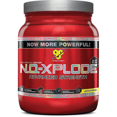 BSN, No-Xplode 2.0 (Lemonade), 60 Servings