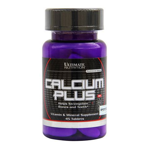 Ultimate Nutrition, Calcium Plus, 500mg, 45 Tabs
