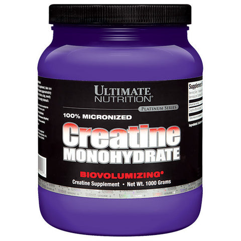 Ultimate Nutrition, Creatine Monohydrate, 1000g