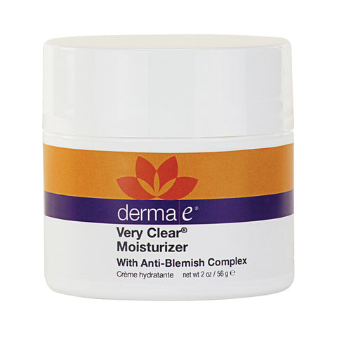 derma e, Very Clear Moisturizer, 2oz