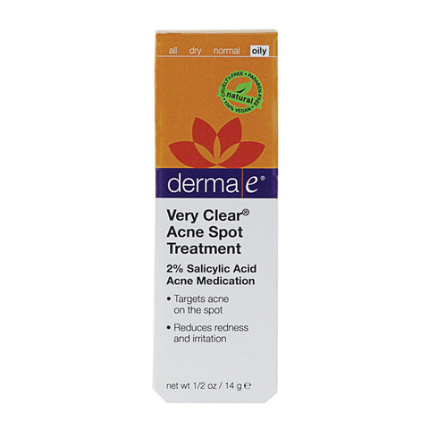 derma e, Very Clear Spot Treatment, 0.5oz