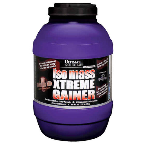 Ultimate Nutrition, Iso Mass Xtreme Gainer (Chocolate), 4.6kg (10.11lbs)