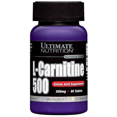 Ultimate Nutrition, L-Carnitine, 500mg, 60 Tablets