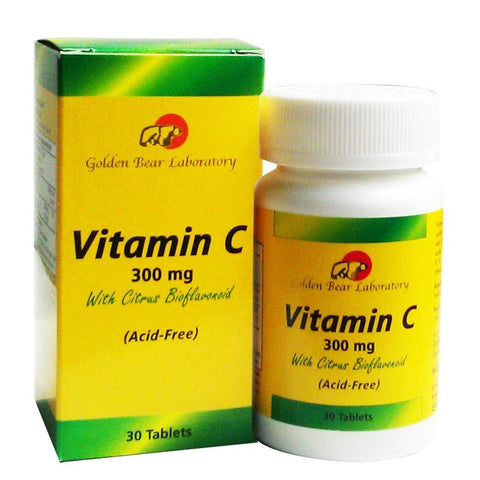 Golden Bear, Vitamin C + Quercetin, 100 Tablets