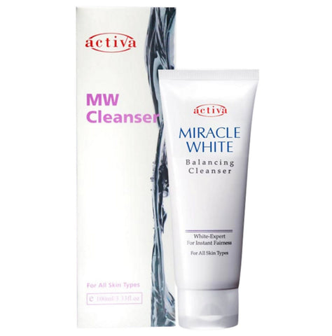 Activa, Miracle White Balancing Cleanser, 100ml