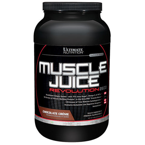 Ultimate Nutrition, Muscle Juice Revolution (Chocolate), 2.13kg (4.69lbs)