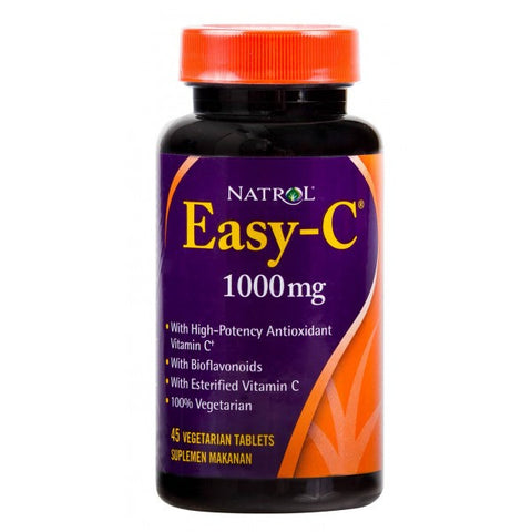 Natrol, Easy-C, 1000mg, 45 Tablets