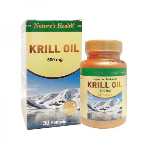 Nature's Health, Krill Oil, 500mg, 30 Soft Gels