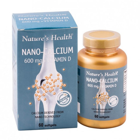 Nature's Health, Nano Calcium, 60 Soft Gels