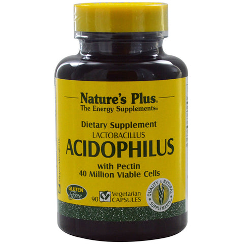 Nature's Plus, Acidophilus, 90 Veggie Caps