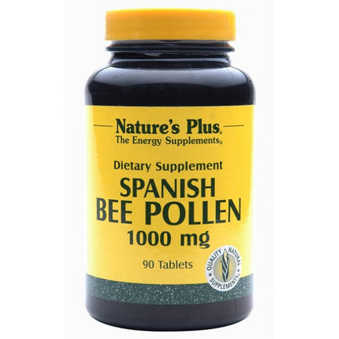 Nature's Plus, Spanish Bee Pollen, 1000 mg, 90 Tablets