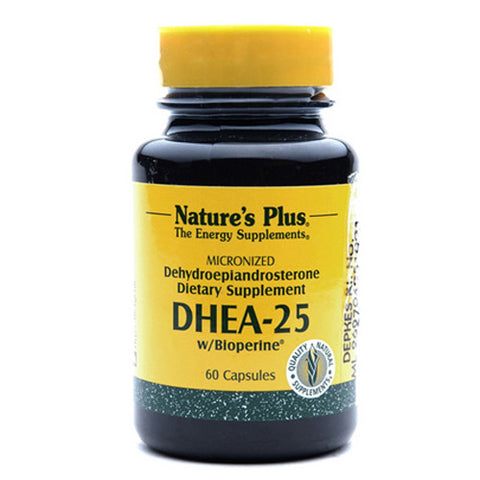Nature's Plus, DHEA-25, 60 Veggie Caps