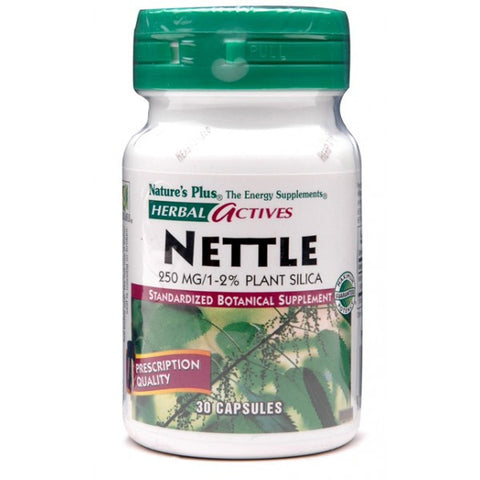 Nature's Plus, Nettle, 250 mg, 30 Veggie Caps