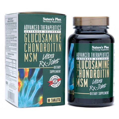 Nature's Plus, Glucosamine Chondroitin MSM, Ultra Rx-Joint, 90 Tablets