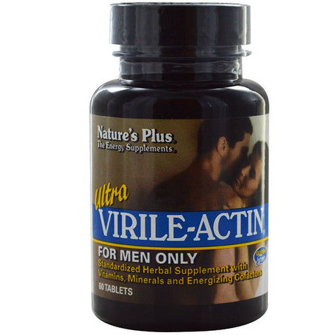 Nature's Plus, Ultra Virile-Actin (for Men Only), 60 Tablets