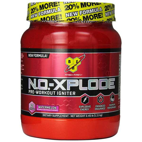BSN, No-Xplode 2.0 (Watermelon), 60 Servings