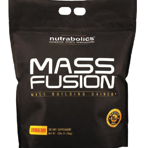 Nutrabolics, Mass Fusion (Strawberry), 7.26kg (16lbs)