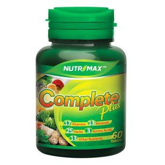 Nutrimax, Complete Plus, 60 Tablets