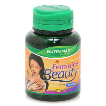 Nutrimax, Feminine Beauty, 60 Tablets