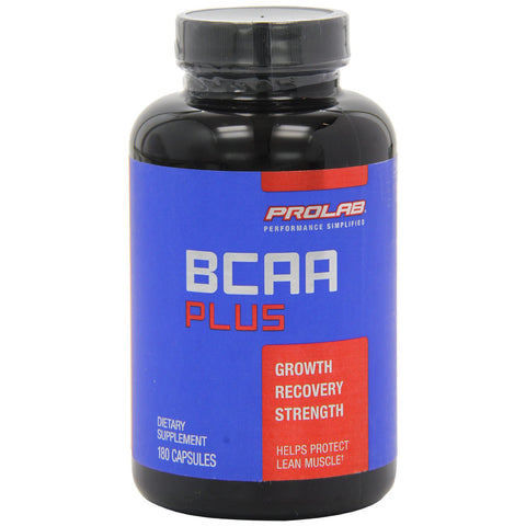 ProLab, BCAA Plus, 180 Capsules