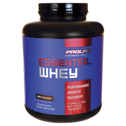 Prolab, Essential Whey Protein (Chocolate), 2.26kg (5lbs)
