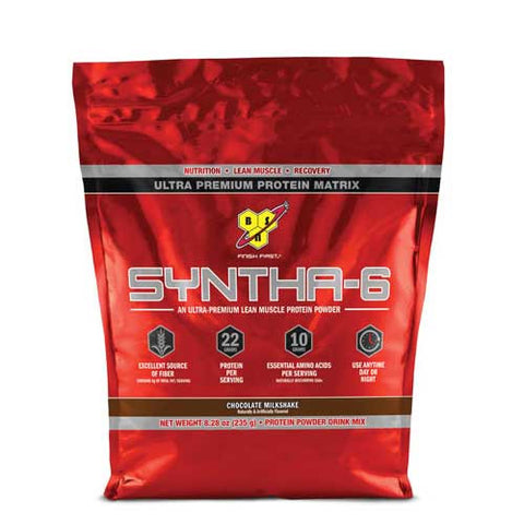BSN, Syntha 6 Protein Powder (Chocolate), 4.56kg (10lbs)